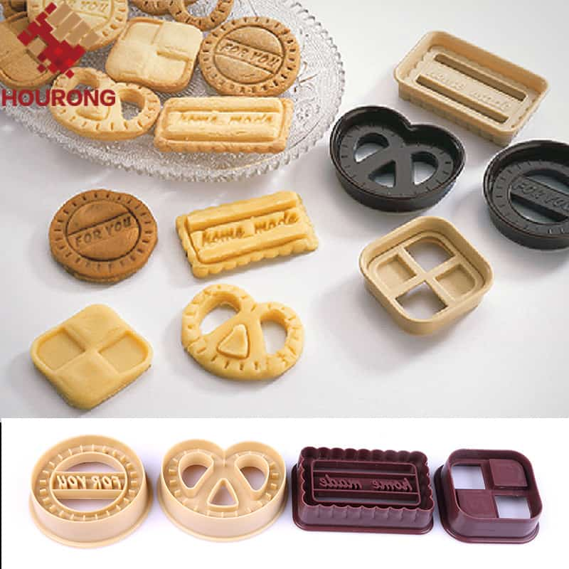 Cookie Moulds- Set Of Four Baking Cute Designs